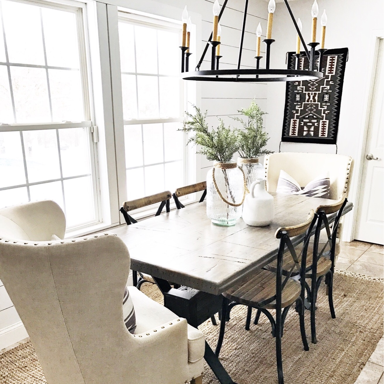 simple summer dining room update