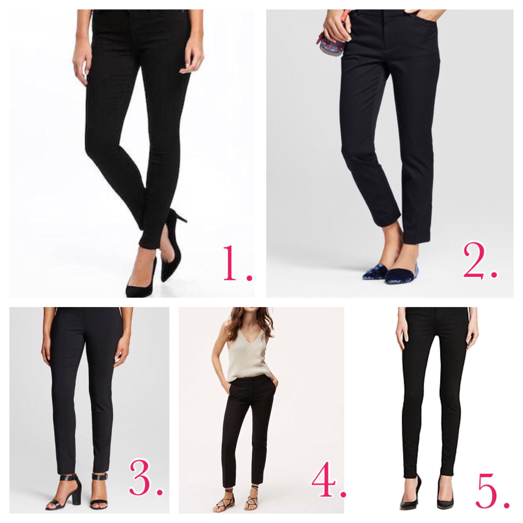 ff88a22f91 My Favorite Flattering Black Pants | The Spoiled Home