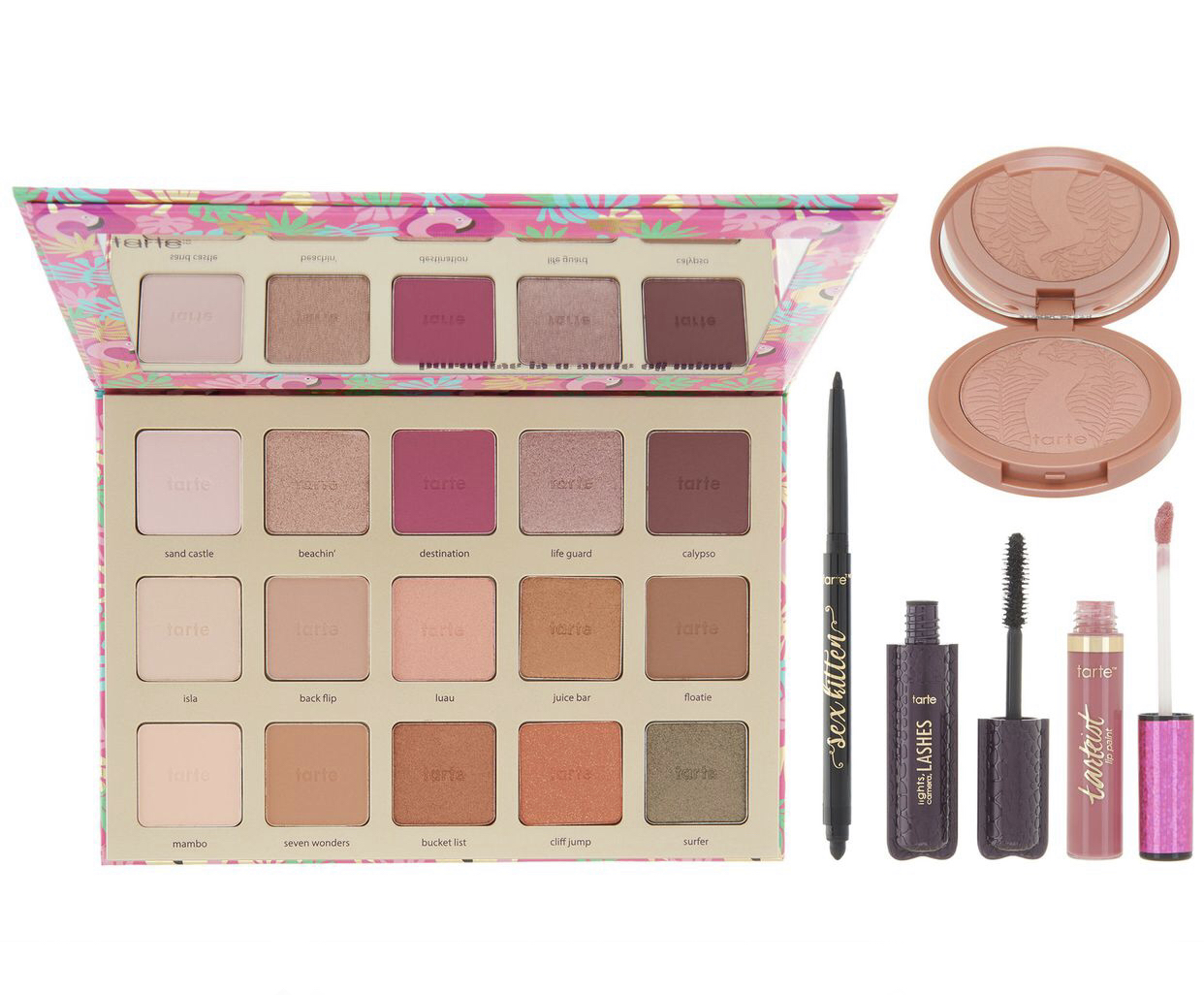 QVC eyeshadow palette set