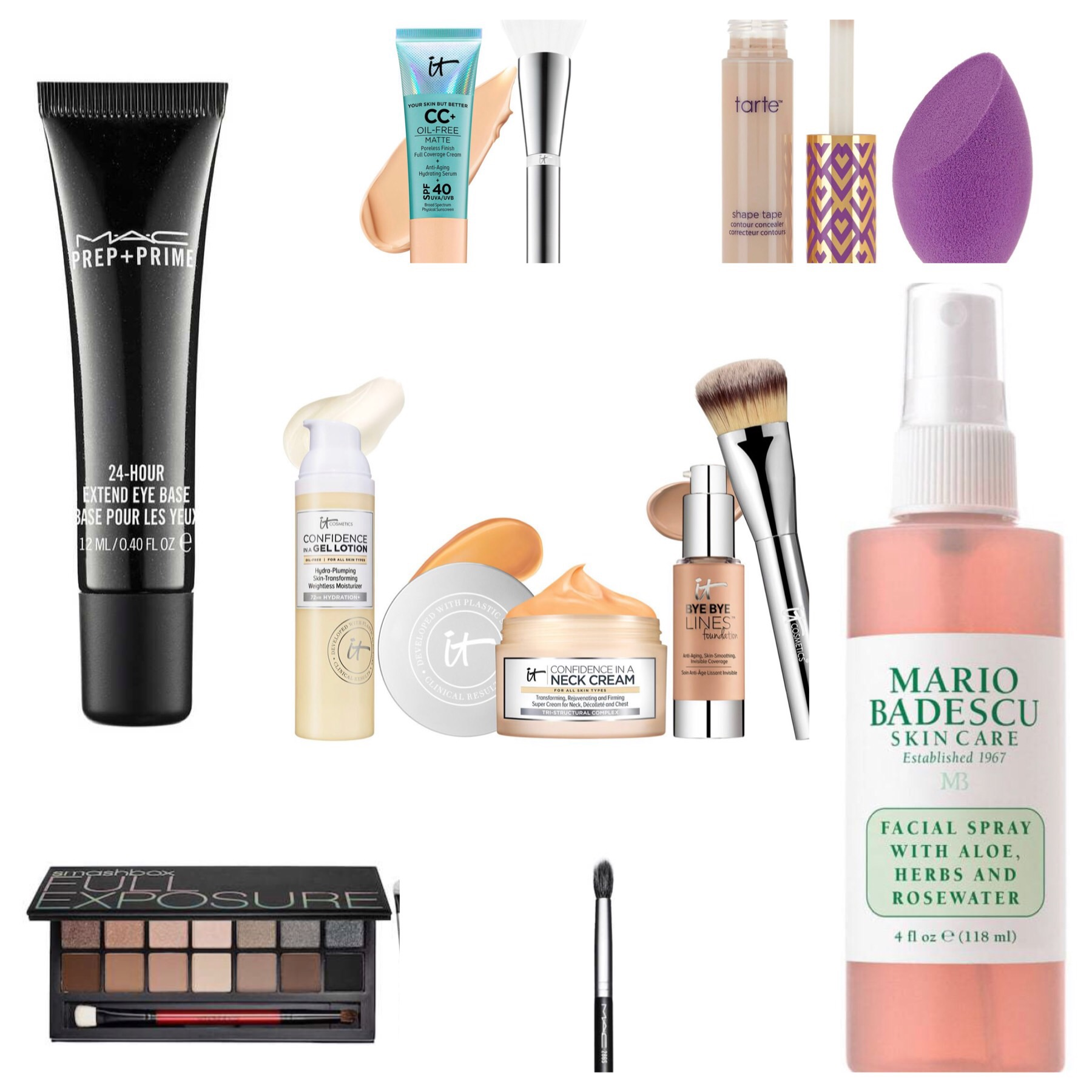 Sandi's makeup must haves