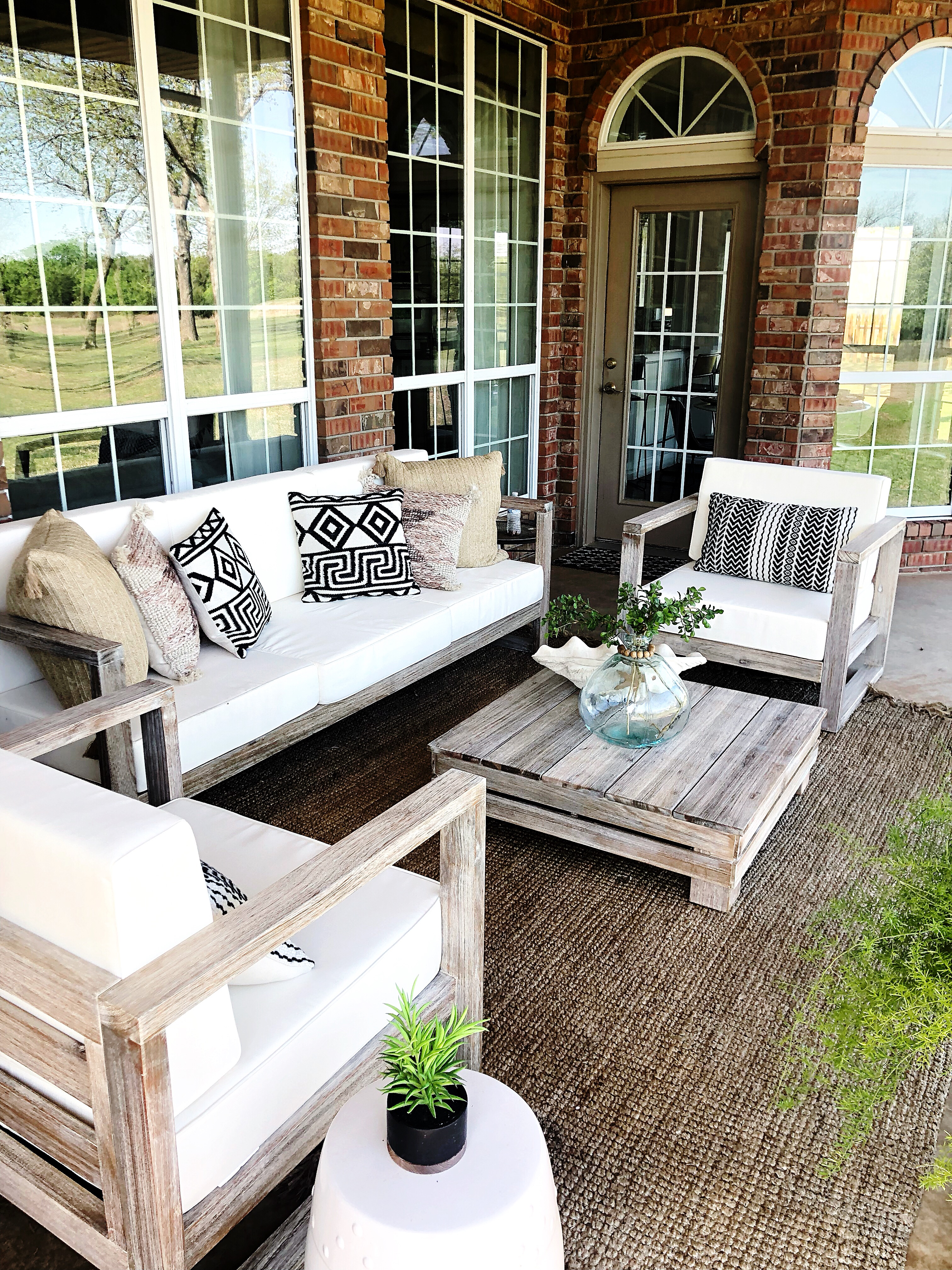 Getting Outdoor Ready With World Market The Spoiled Home