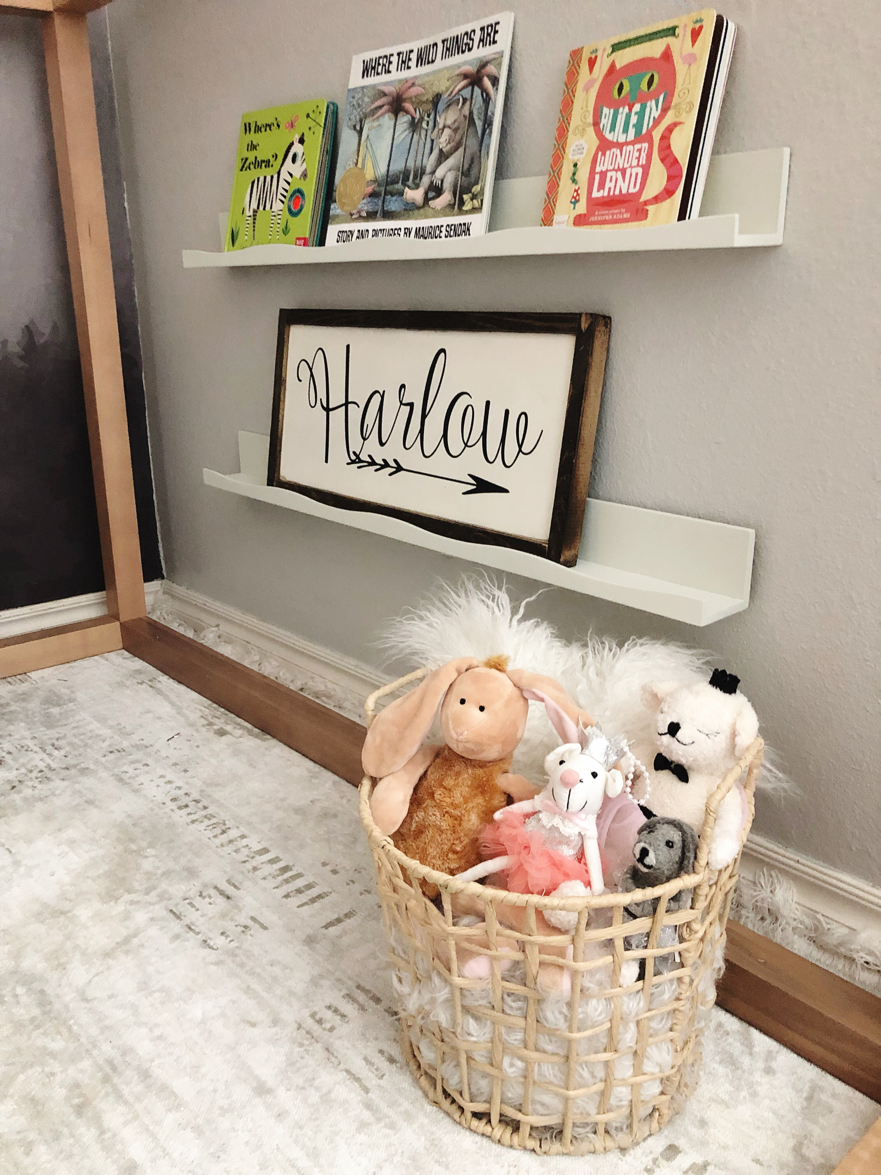 Harlow's Playroom Update