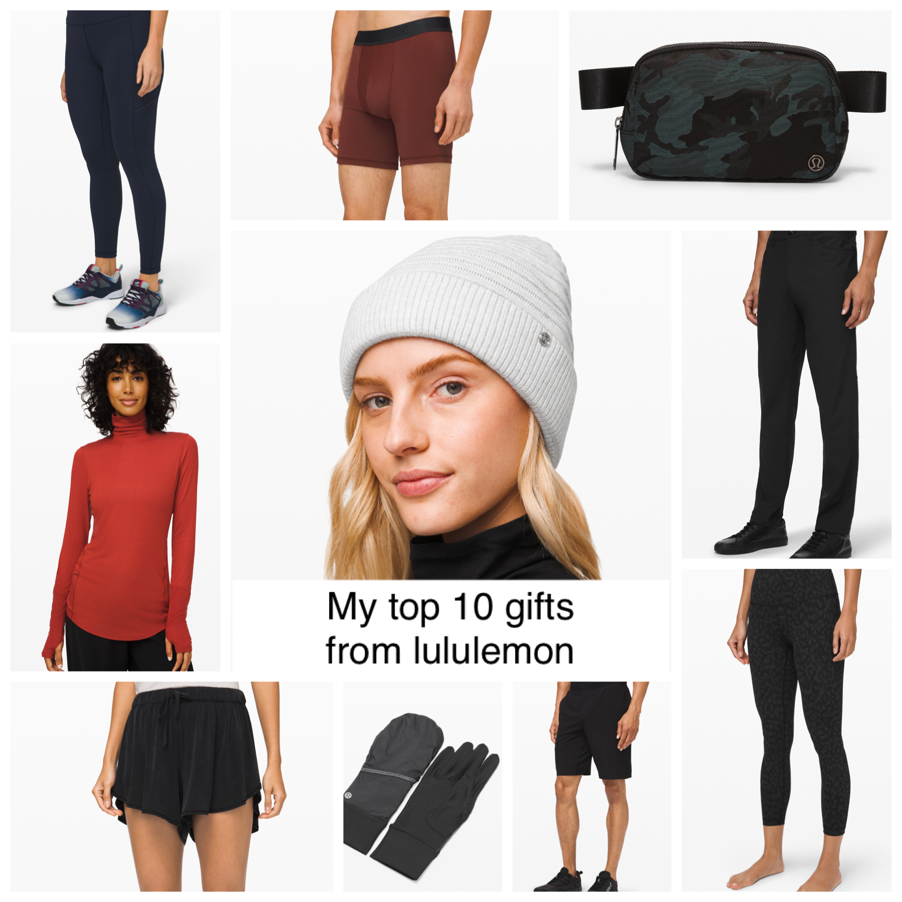 Top 10 Gifts from Lululemon