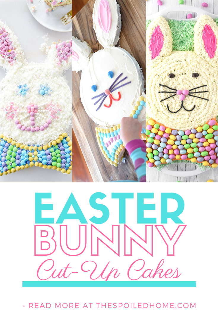 Easter Bunny Cut-up Cake