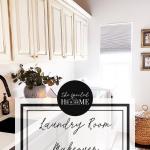 Shalia's Modern Laundry Room Update