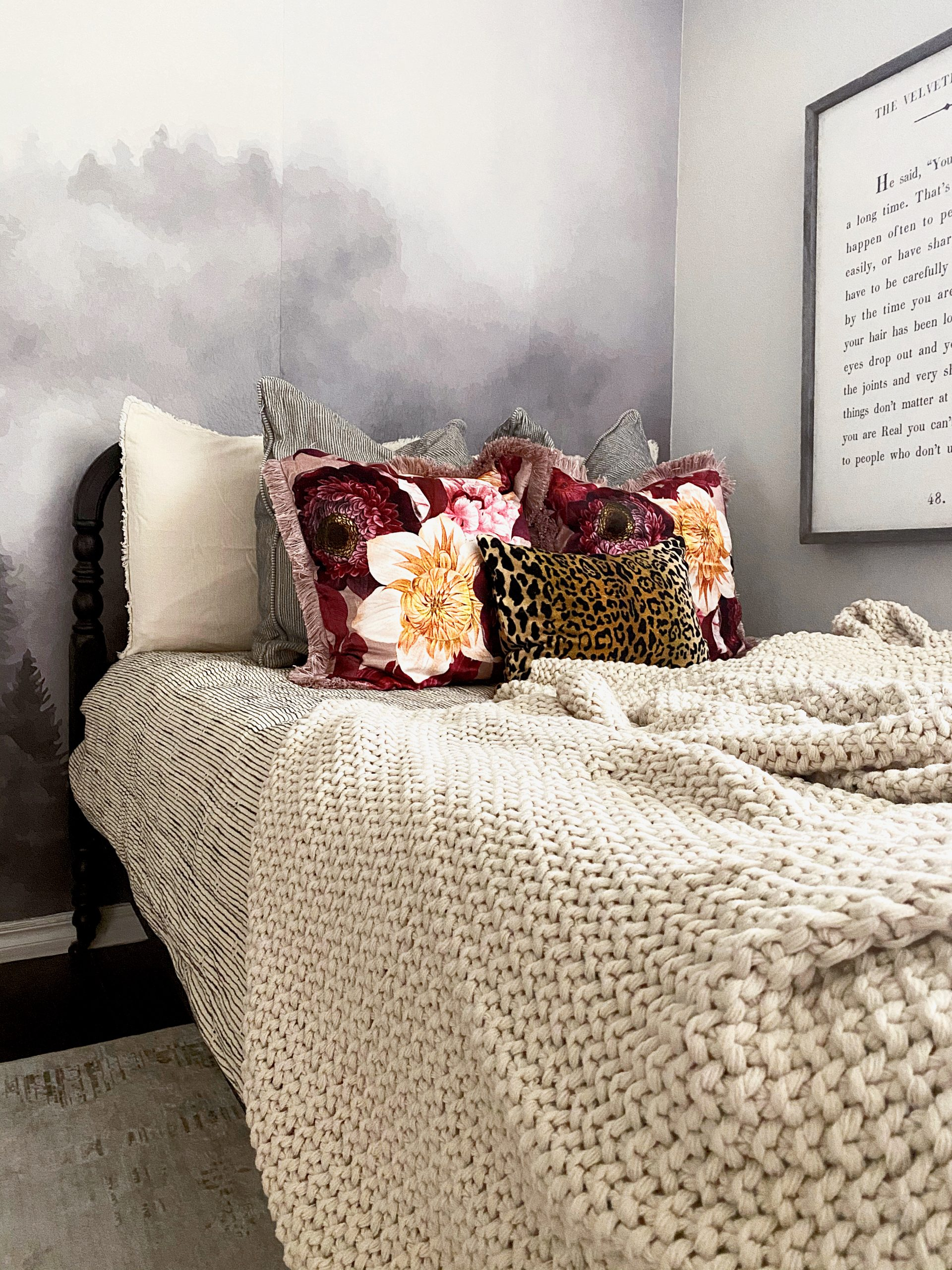 The Chunky Knit Bed Blanket by Casaluna
