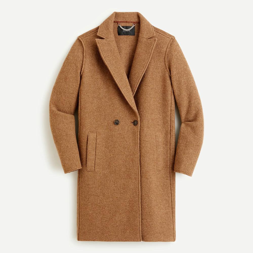 Daphne Top Coat in Italian Boiled Wool